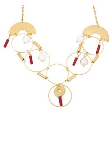 Amulette Jewel Kolye Kırmızı